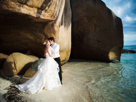 Gift er på Seychellerna